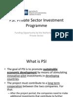 PSI Presentation