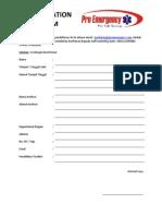 Form Registrasi Umum