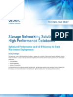 Storage Networking Solutions for High Performance Databases by QLogic