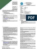 Ing Informatica - VIII Ciclo - Silabo Formulación y Evaluacion de proyectos informaticos