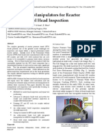 Robotics and Manipulators for Reactor Pressure Vessel Head Inspection