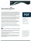 Five Things To Know About Cloud Computing - Advanced Systems Group