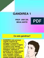 Gandirea 1