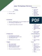 Homepage RegFiles Classroom Language