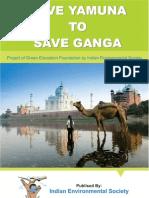 Project on Save Yamuna to Save Ganga