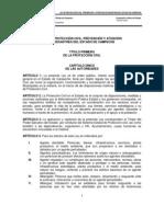 LEY DE PROTECCIÓN CIVIL, PREVENCIÓN Y ATENCIÓN DE DESASTRES
