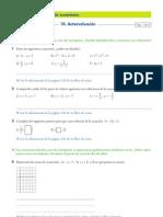 Autoevaluacion Sistemas de Ecuaciones