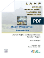 Dairy Production Subsector