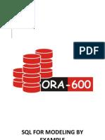 SQL for Modeling