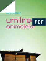 umilirea animalelor de val chimic