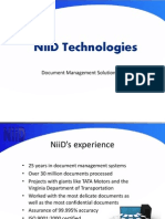 NiiD Technologies Document Management Solutions