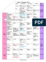 term 3 calendar 2013