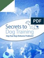 Secrets to Dog Training v7 0