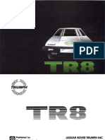 Tr 8 Owners Manual