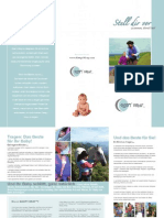 Sleepy Wrap Benefits of Babywearing Brochure - German