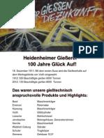 Heidenheimer Gießerei Erinnerungskarte