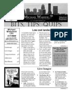 Bits, Tips & Quips