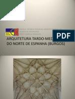 Arquitetura Tardo-medieval Do Norte de Espanha (Burgos Fa