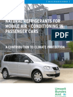 UBA_Natural Refrigerants for Mobile Air-Conditioning in Passenger Cars