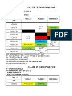 f y b Tech Sem i 2013-14 Time Table