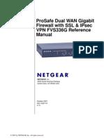 Netgear Prosafe FVS336G - FullManual