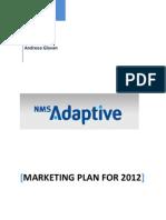 New Media Software Marketing Plan 2012