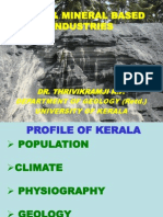 Mineral Based Industry for Kerala by Thrivikramji
