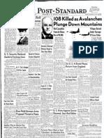Jan. 21, 1951 The Post-Standard