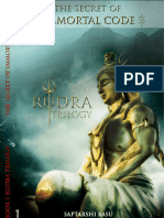 Rudra Trilogy 1- The Secret of Immortal Code - 4 Chapters