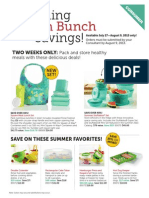 Tupperware Sales Specials for You!