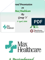 73986769 Brand Activation for Max Healthcare