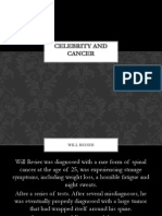 Celebrity and Cancer