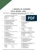 6 Dirg. Economía (Deuda Publica - Distribucion, Consumo - Com. Internacional - Bal. de Pagos ) Repaso - 2005