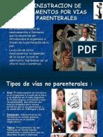 Administracion de Medicamentos por Vias no Parentales