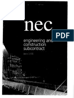 NEC Engineering & Construction Contract Optional A