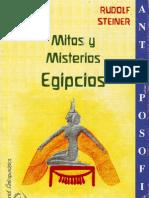 Rudolf Steiner Mitos y Misterios Egipcios