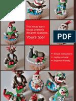 Magical Christmas Cupcakes - DiY Guide