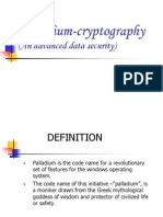 Palladium Cryptography Ppt