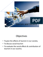 Tourism and Society