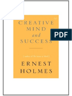 Creative Mind and Success by Ernest S Holmes