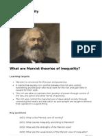 04 Marxist Inequality