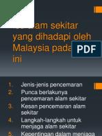 Isu Alam Sekitar Yang Dihadapi Oleh Malaysia Pada