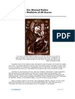 Our Blessed Mother  — Mediatrix of All Graces