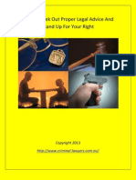 Things You Should Know About Fighting For Your Rights
