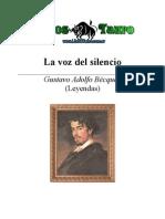 Becquer, Gustavo Adolfo - La Voz Del Silencio