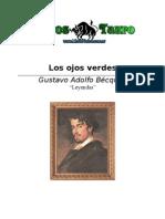 Becquer, Gustavo Adolfo - Los Ojos Verdes