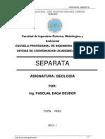 Compedio de Geologiia General