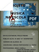 Musica Na Escola