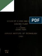 Design of Sand Grav 00 Kum b