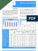 Retail Sales Index June 2013